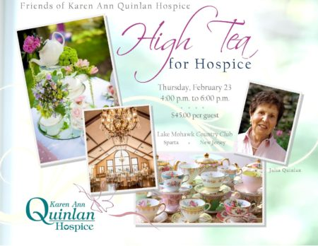 High Tea for Karen Ann Quinlan Hospice