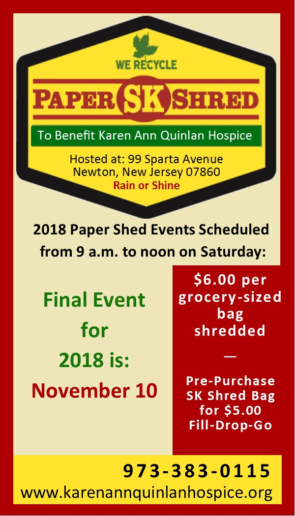 SK Paper Shred Event