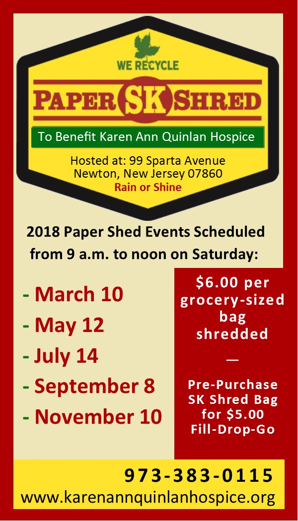 SK Paper Shred Events