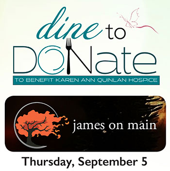 Dine-to-Donate • James On Main
