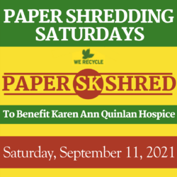 SK Paper Shred Events - 09/11/2021