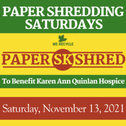 SK Paper Shred Events - 11/13/2021