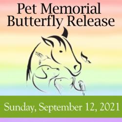 Pet Butterfly Release Memorial Service