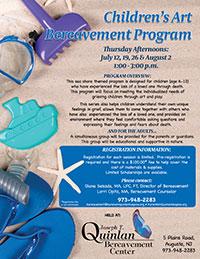 Children's Art Bereavement Program - Summer 2018