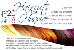 Haircuts for Hospice 2018