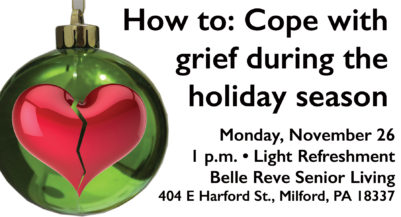 How to: Cope with grief during the holidays - Milford