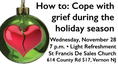 How to: Cope with grief during the holidays - Vernon