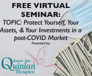 """Seminar: Protect Your Assets in a """"post"""" COVID-19 Market"""