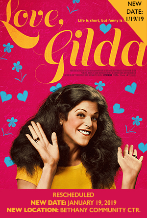 Love, Gilda - Rescheduled Screening